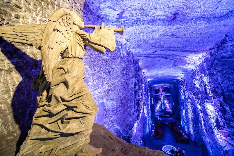 Bogota & Cartagena 7D - Zipaquira Salt Cathedral - Angel.jpg