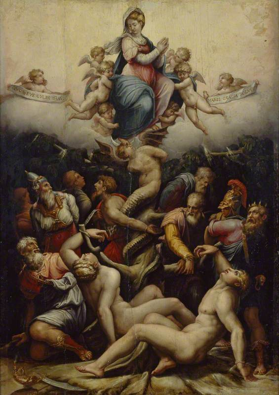 Giorgio Vasari (1511–1574): 'An Allegory of the Immaculate Conception'