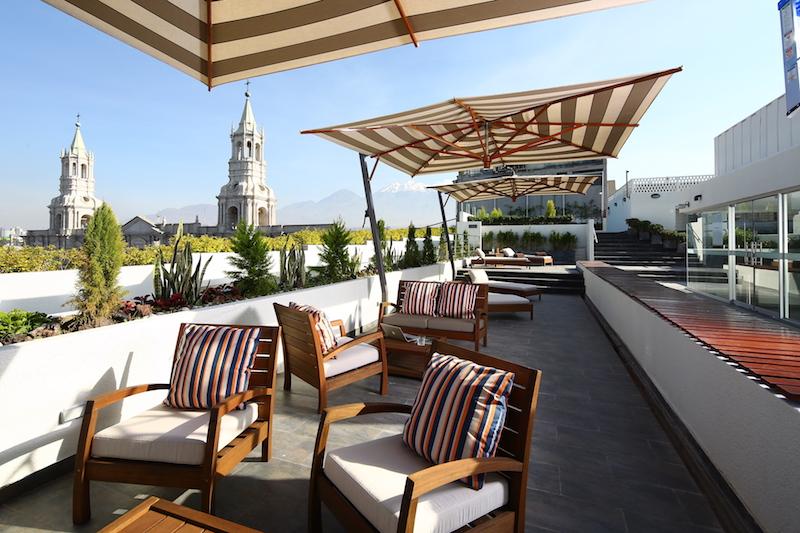 Arequipa & Colca Canyon 4D - Casa Andina Select Terrace.JPG