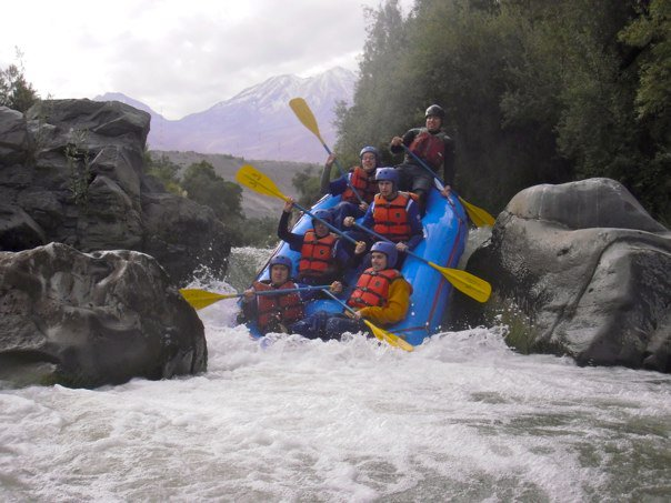 Rafting on the Chili River is a fun half-day option.