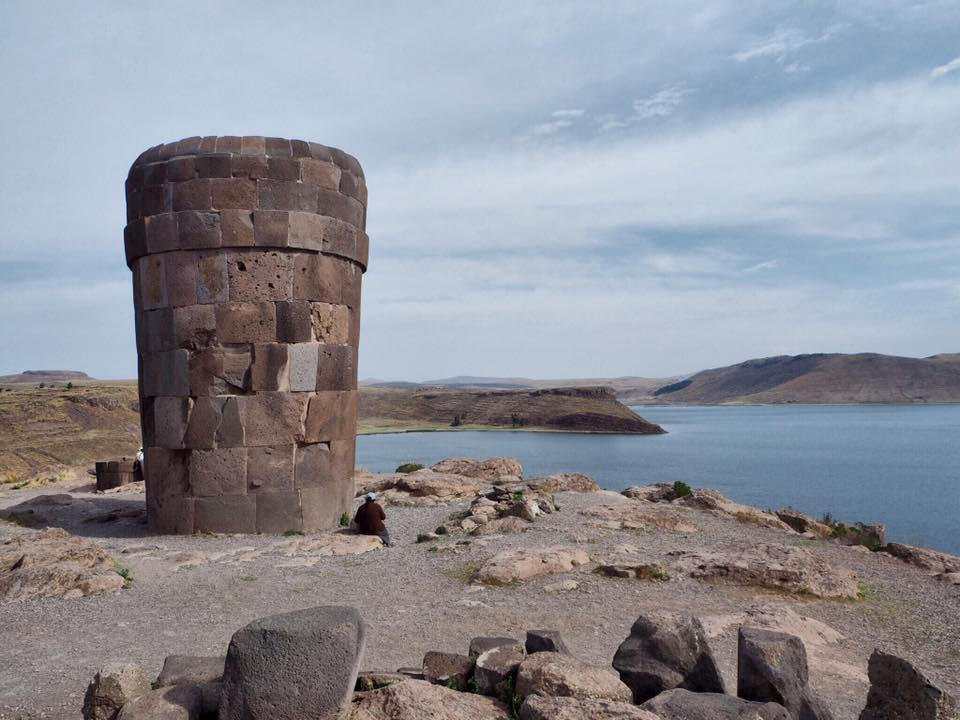 Lake Titicaca 4D - Sillustani Funerary Tower.jpg