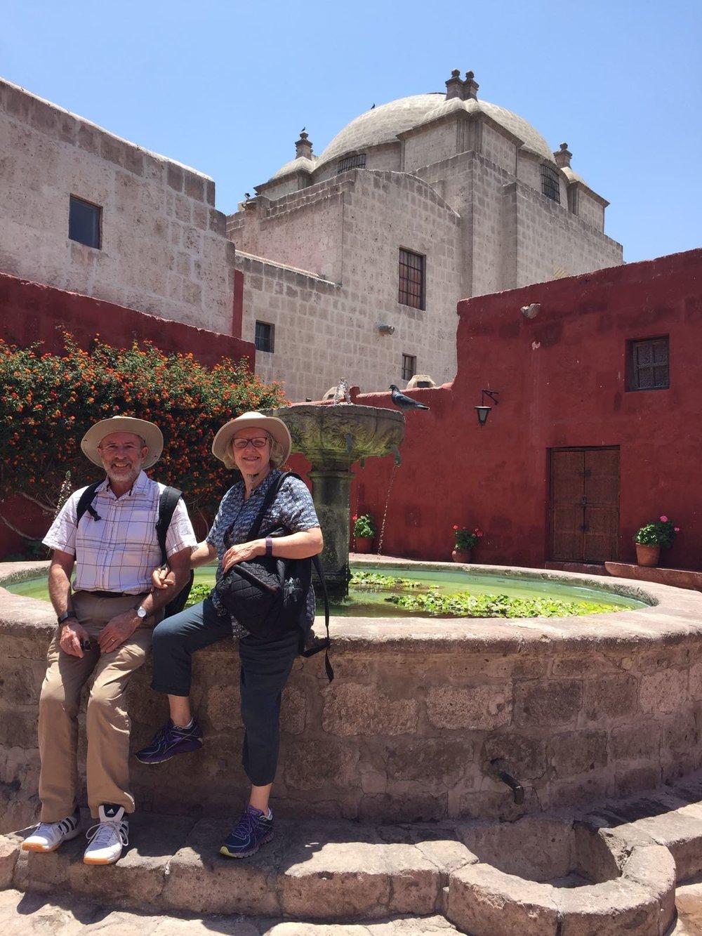 Dallas, Elana x 2 - Arequipa & Colca - Santa Catalina Monastery.jpg