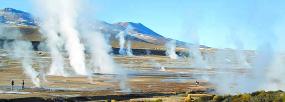 The largest geyser field in the Southern Hemisphere.