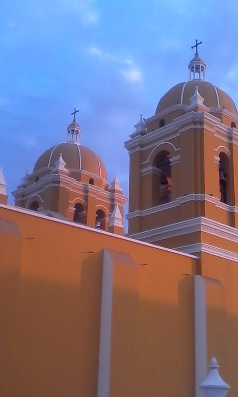 Chiclayo - Trujillo - Trujillo Cathedral Bell Towers.jpg