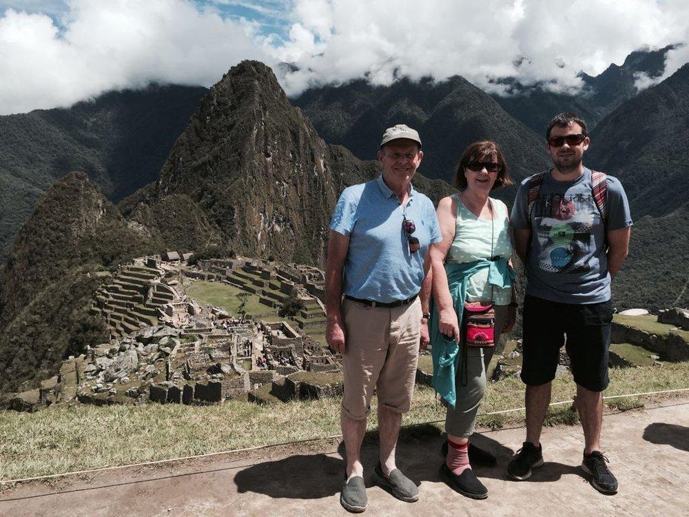 Jordan x 3 - Machu Picchu