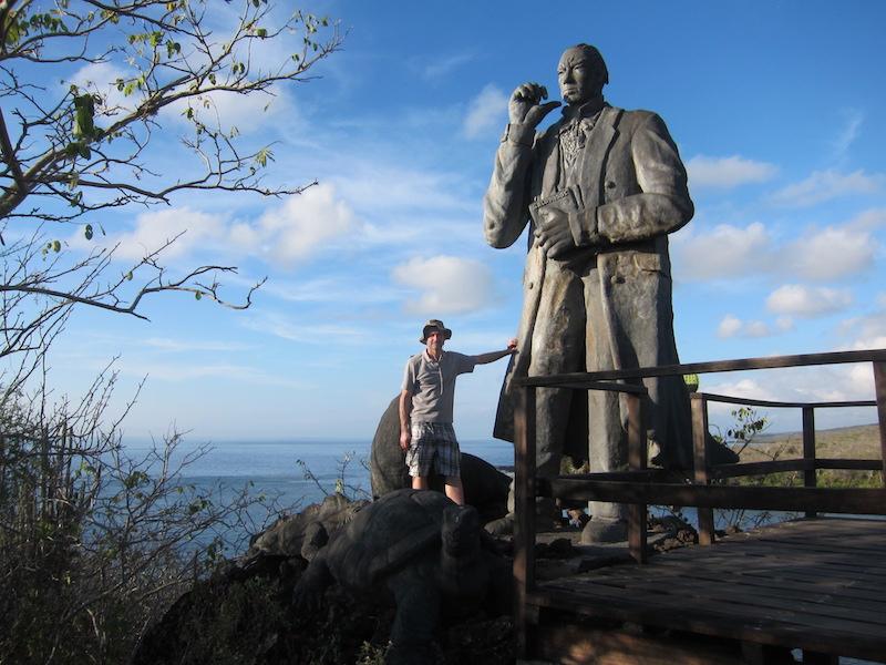 Galapagos Islands 5D - Darwin Statue.jpg