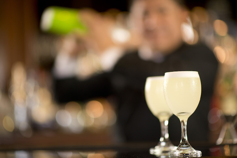 Pisco Sour - Peru's National Cocktail - Country Club Hotel Bar