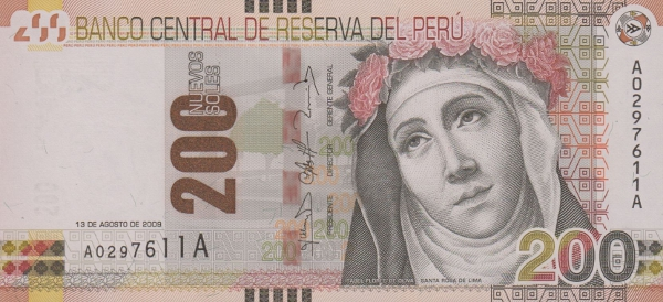 Santa Rosa de Lima - s/.200 note