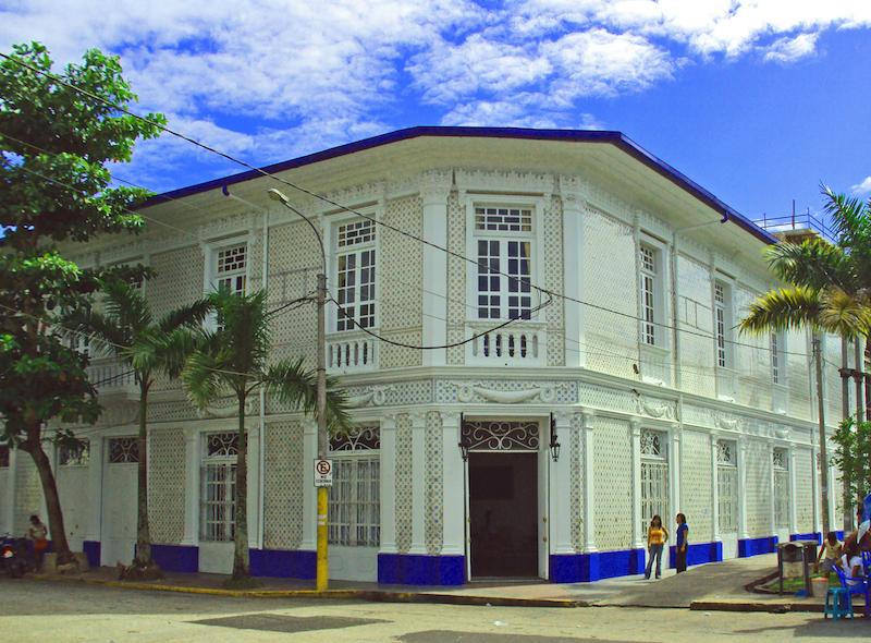 Casa Morey , a former rubber baron's mansion.