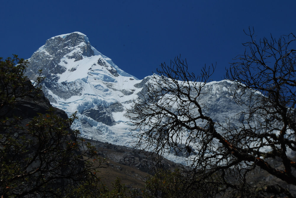 Huascaran Mountain in Peru's Ancash Province.