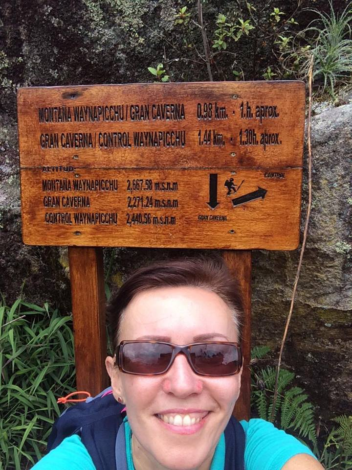 Kurnavova x 1 - Lima, Cusco & Machu Picchu - Start of Wayna Picchu Hike.jpg