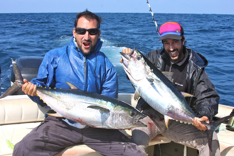 Sport Fishing in Northern Peru - Marlin Catch.JPG