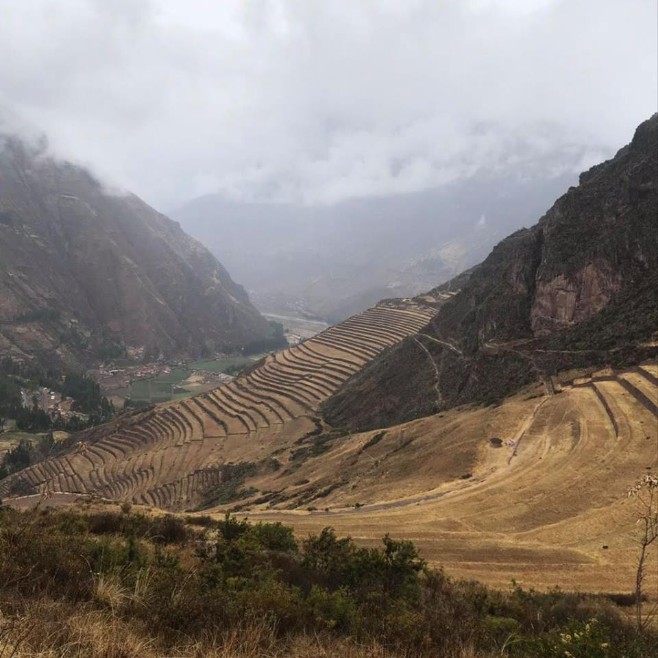 Scenic views wherever you look! The drive from Cusco to Ollantaytambo was stunning. Pictures doesn't do it justice.