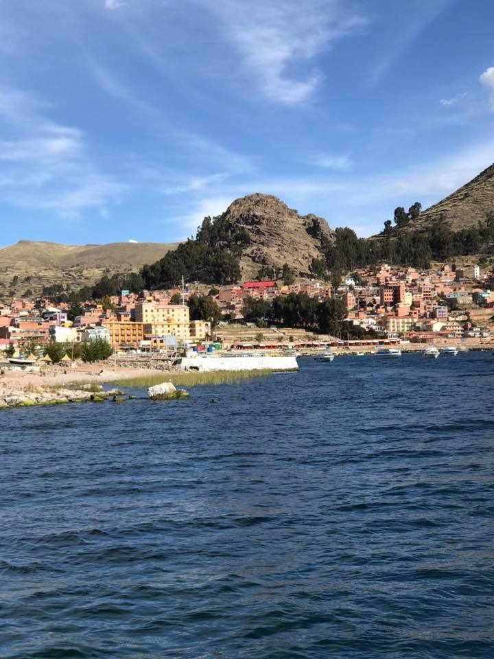 Copacabana, Bolivia was an afterthought when we were planning this holiday, as it is only 2.5 hrs from Puno, Peru and we could tick off another country visited.Worth every moment.
