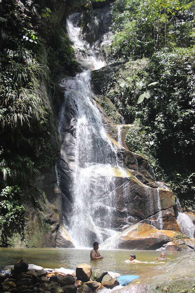 Pucayaquillo Waterfall.