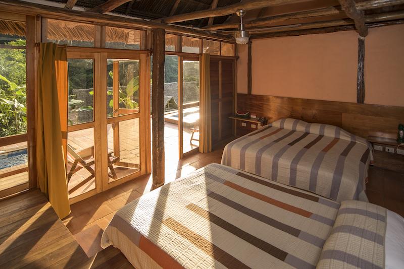 A room at Pumarinri Amazon Lodge.