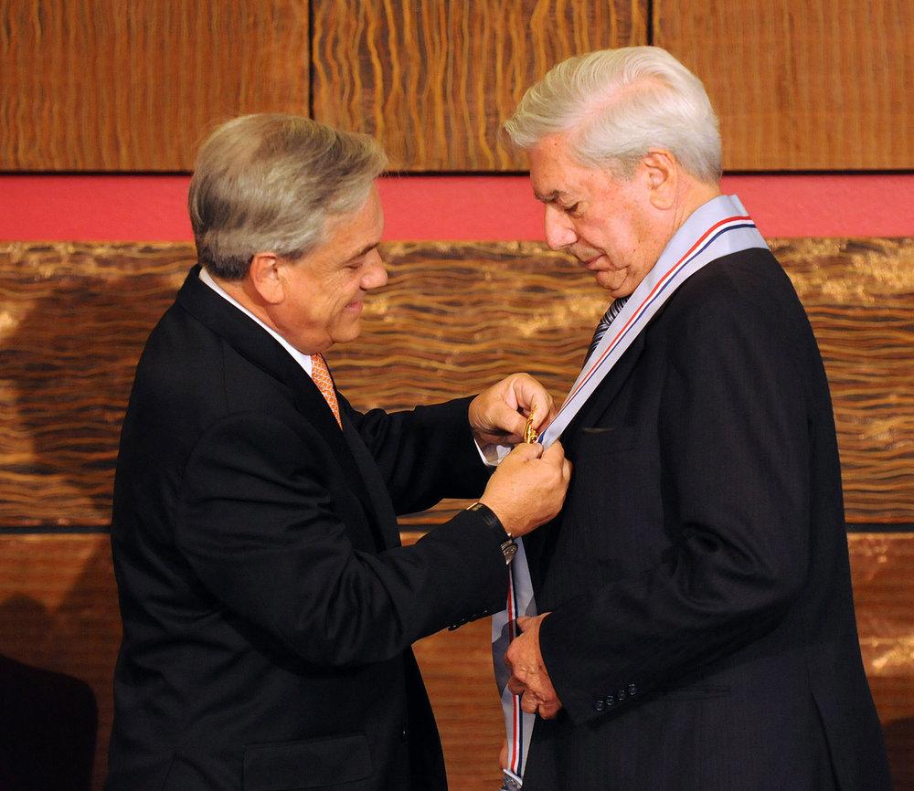 Mario Vargas Llosa - Peru's Living Legend - Receiving Award.jpg