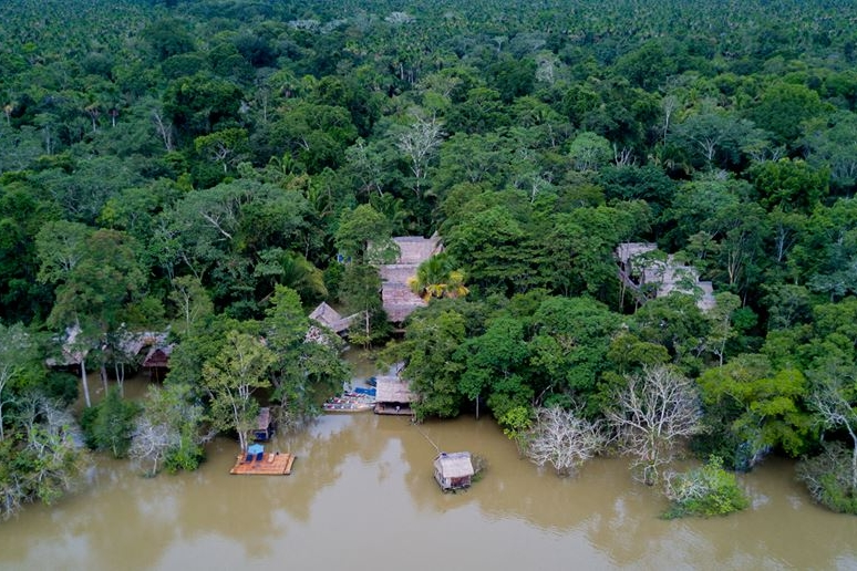 Muyuna - Daily Rate: from £103 / $132 ppDistance from Iquitos?62km (38 mi) upstream✔ Protected Area✘ A/C✔ Private Bathrooms✔ Electricity✘ WiFi✘ Swimming pool✘ Canopy Walkway✘ Zip-lining