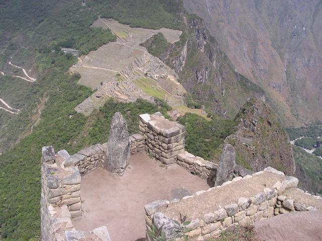 Low Altitude Machu Picchu - View from Wayna Picchu.JPG