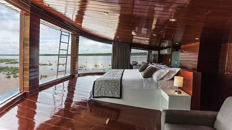 R&F Amazon Cruise: Presidential Suite