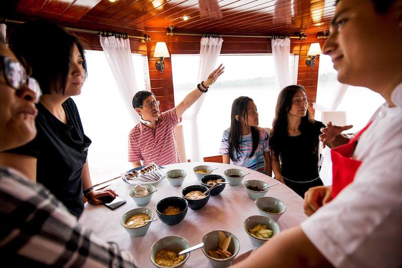 R&F Amazon Cruise: Cooking Class