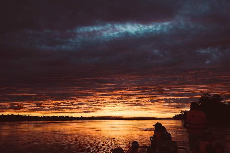 R&F Amazon Cruise: Sunset