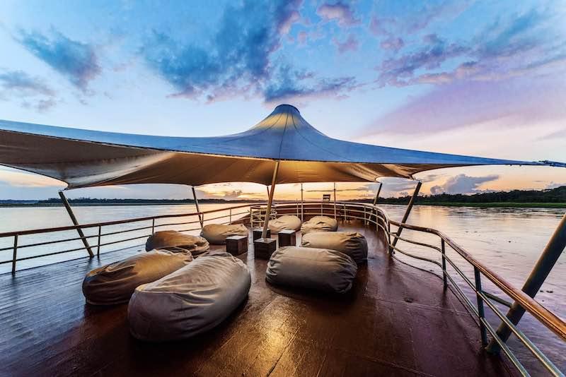 R&F Amazon Cruise: Sun Deck