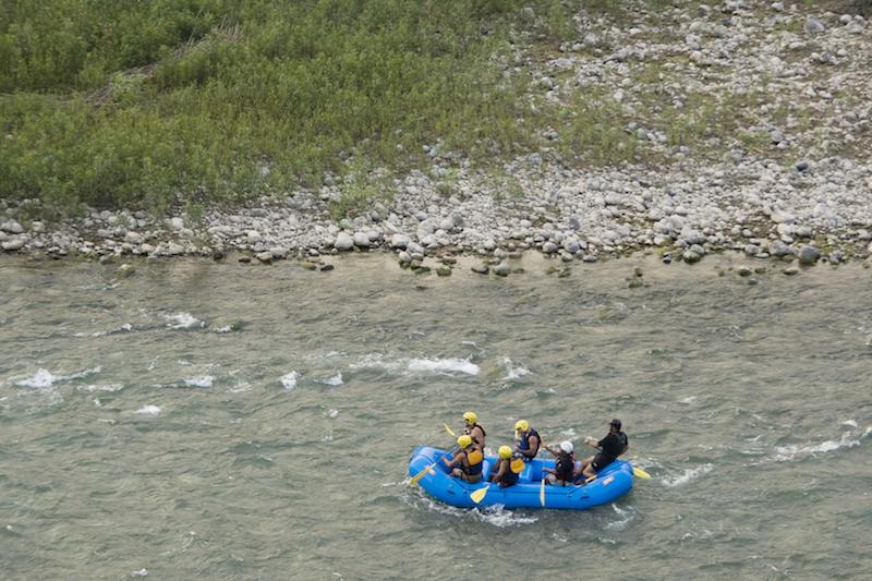 Cañete River, Lunahuana