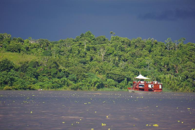 Mankoff x 6 - Spondias Testimonial - Boat against Amazon Jungle.JPG