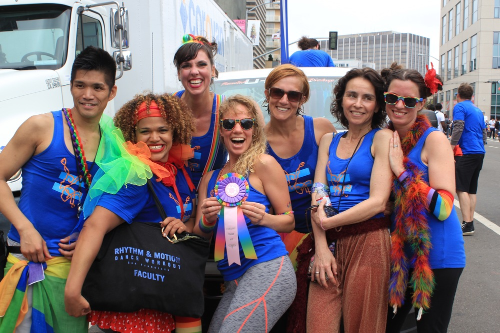 SF Pride, August 2015    WINNER: SF Pride Parade's Top Award: Absolutely Fabulous Overall!  Watch video