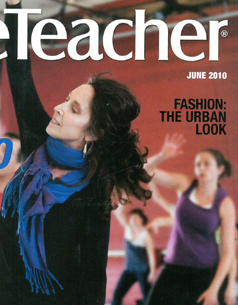 "Dance Teacher Magazine, June 2010   Rhythm & Motion and founder Consuelo Faust are featured in ""The Global Dance Studio""  Read more"