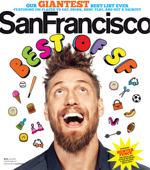 San Francisco Magazine,    July 2015    WINNER, Best of SF: Best Dance Class  Read more