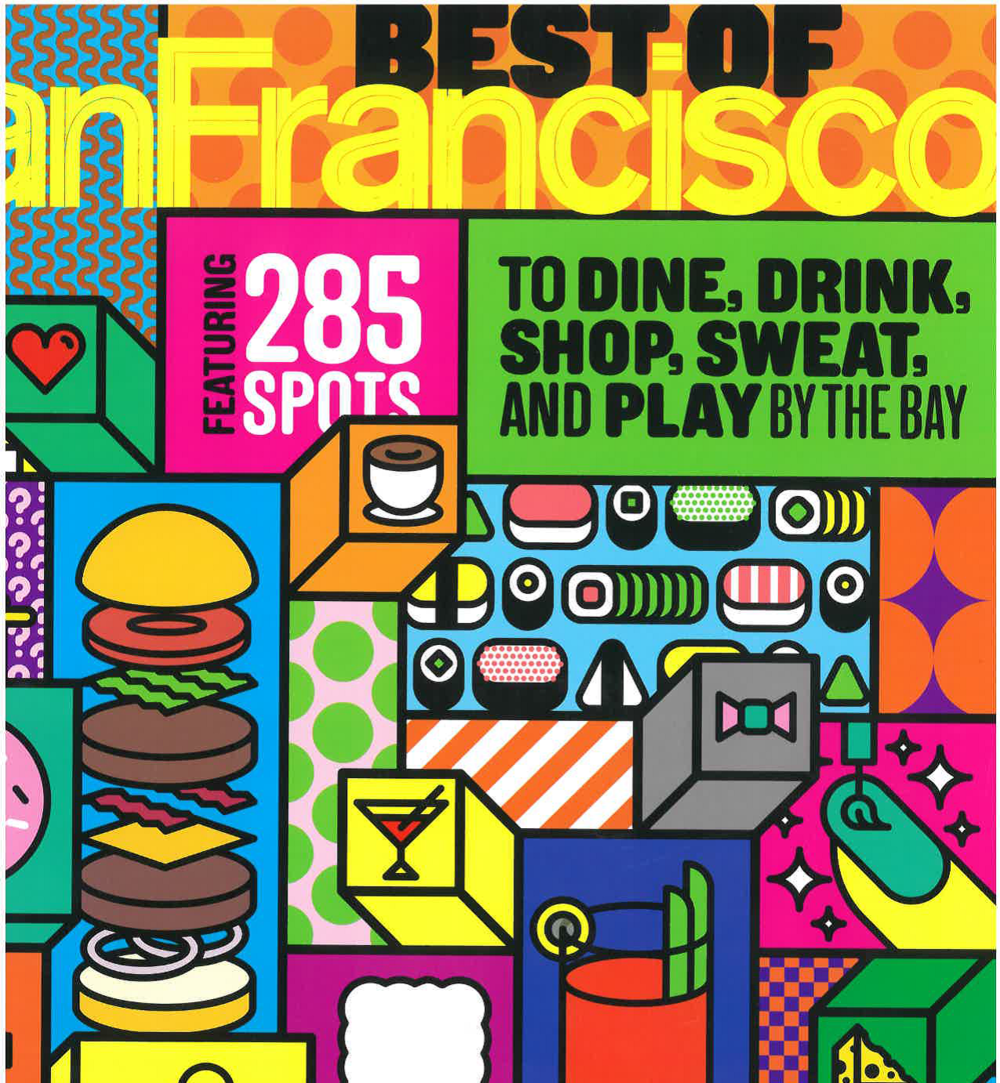 San Francisco Magazine,    June 2016    Best of SF: A Fitness Class for Every Mood  Read more