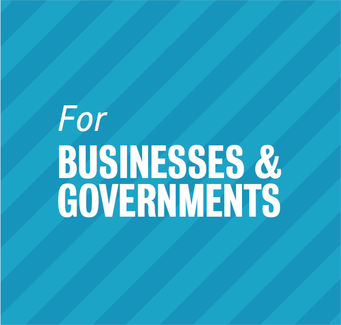 Solutions for Businesses & Governments (Bedrijven & Overheden)