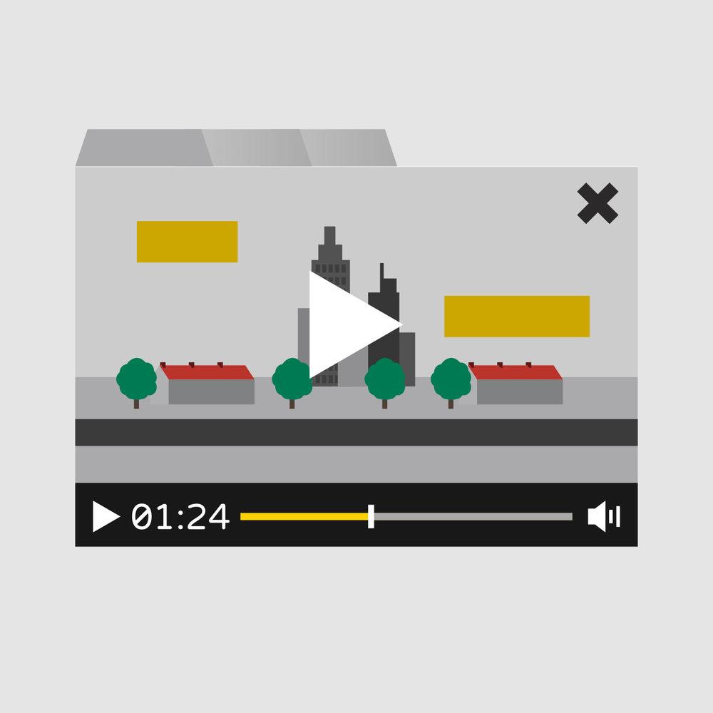 Stap 4. Post-Productie & Publicatie   De animatie wordt gemonteerd met de voice-over, geluidseffecten en muziek. Uiteindelijk wordt de animatie in een gebruiksvriendelijk videoformaat opgeleverd en kan worden ingezet om jullie doelen te bereiken!