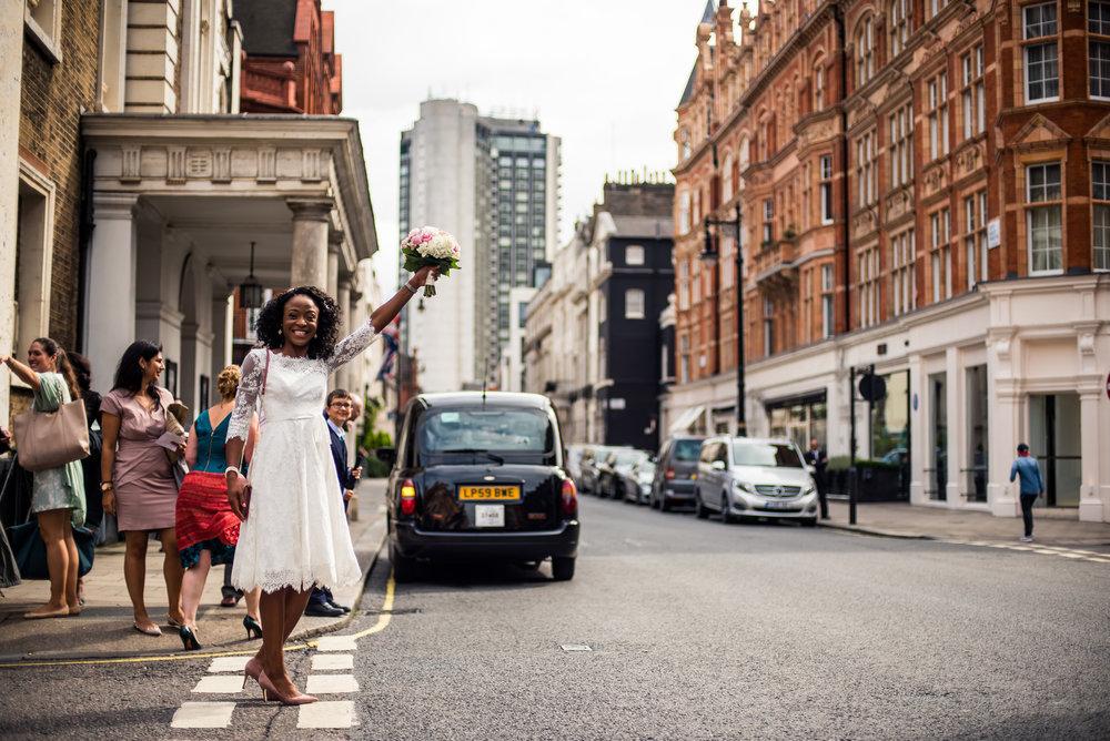 A London - Wedding.