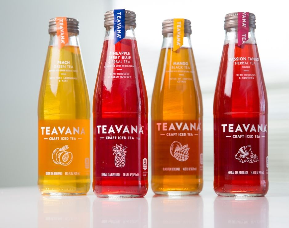 Try the GREAT taste of Teavana. 2 Bottles for $4.00 plus tax. Mix or Match.