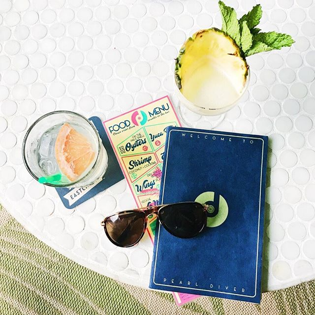 It's the PERFECT day for some patio-sittin' and drink sippin' - what's your fave local spot on a cool August day?! 〰️ We're currently over here crushing on @pearldiver_nashville's beachy vibes 🤙🏼 Maybe a Pearl Diver coaster should be in our future...