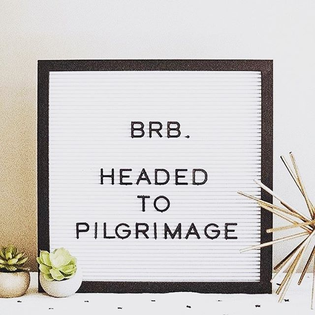 Who's #makingthepilgrimage with us this weekend?! We're SO pumped to be a part of @pilgrimagefestival this year!!! Come find us in Maker's Village North, Booth 18 and grab your fave coasters before they're all gone! ✌🏼