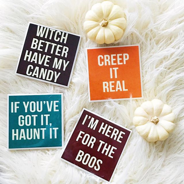 Creep it real, we're just here for the boos 🎃👻 ⠀⠀⠀⠀⠀⠀⠀⠀⠀ Y'all come see us at PUMPKINFEST today only in downtown Franklin, TN! These Halloween cuties are limited edition, only $15 for the set, and ONLY available today at Pumpkinfest. Find us on Main Street just before 2nd Ave until 6pm! ⠀⠀⠀⠀⠀⠀⠀⠀⠀ Happy Halloweekend!