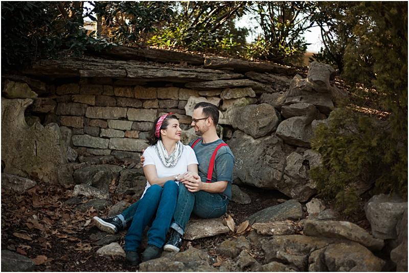 Ammi & Daniel at Centennial Park in Nashville, Tennessee.