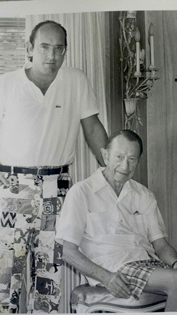 David Paladino and Henry Rolfs in the 1970s