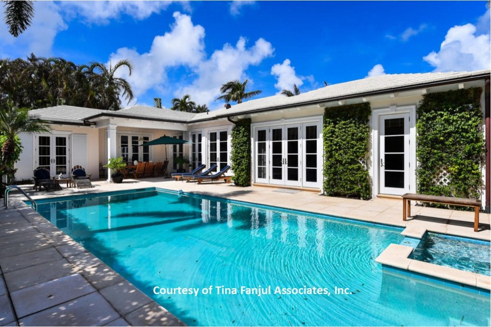 $5.3-Million    Fabulous Pool Home with 4 Bedrooms & 4-1/2 Baths. 3,700+ Square Feet under air.  Perfect quiet location North of Royal Poinciana in East Shore Area.                  Call Clay for an appointment to tour.  Toll Free:  (833) 832-6100, Ext 1
