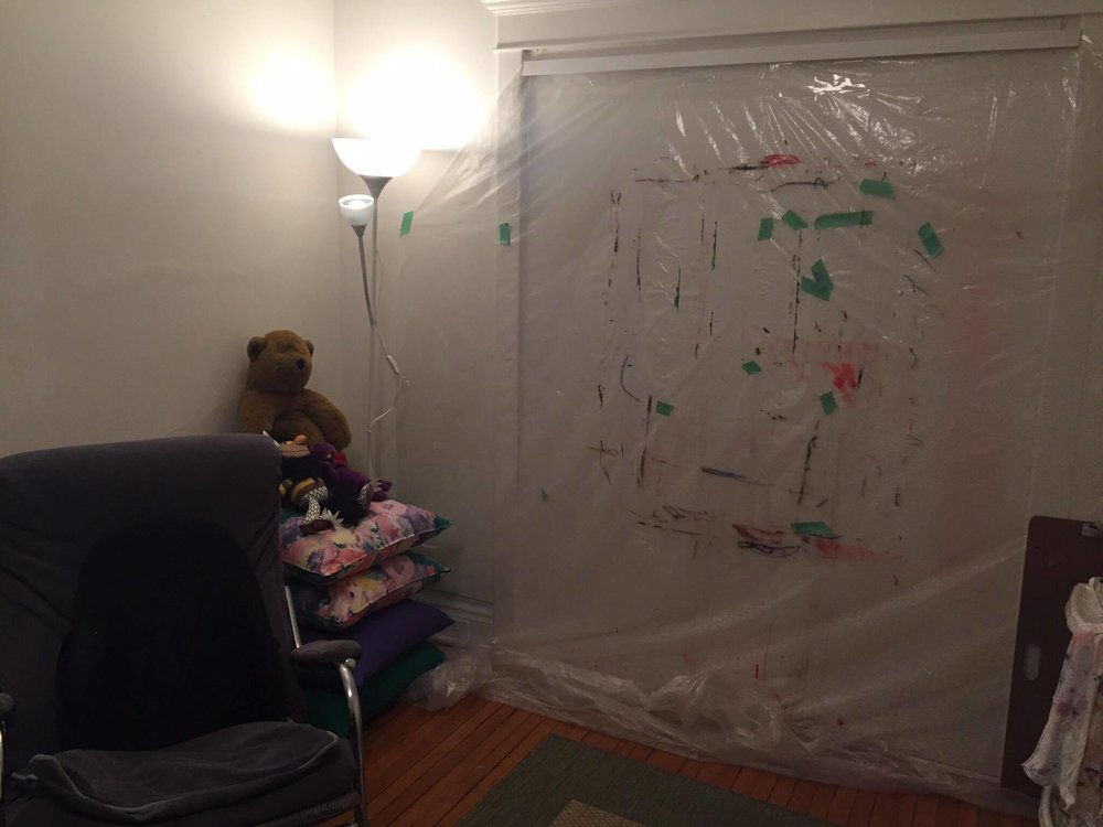 Rowesa's studio.
