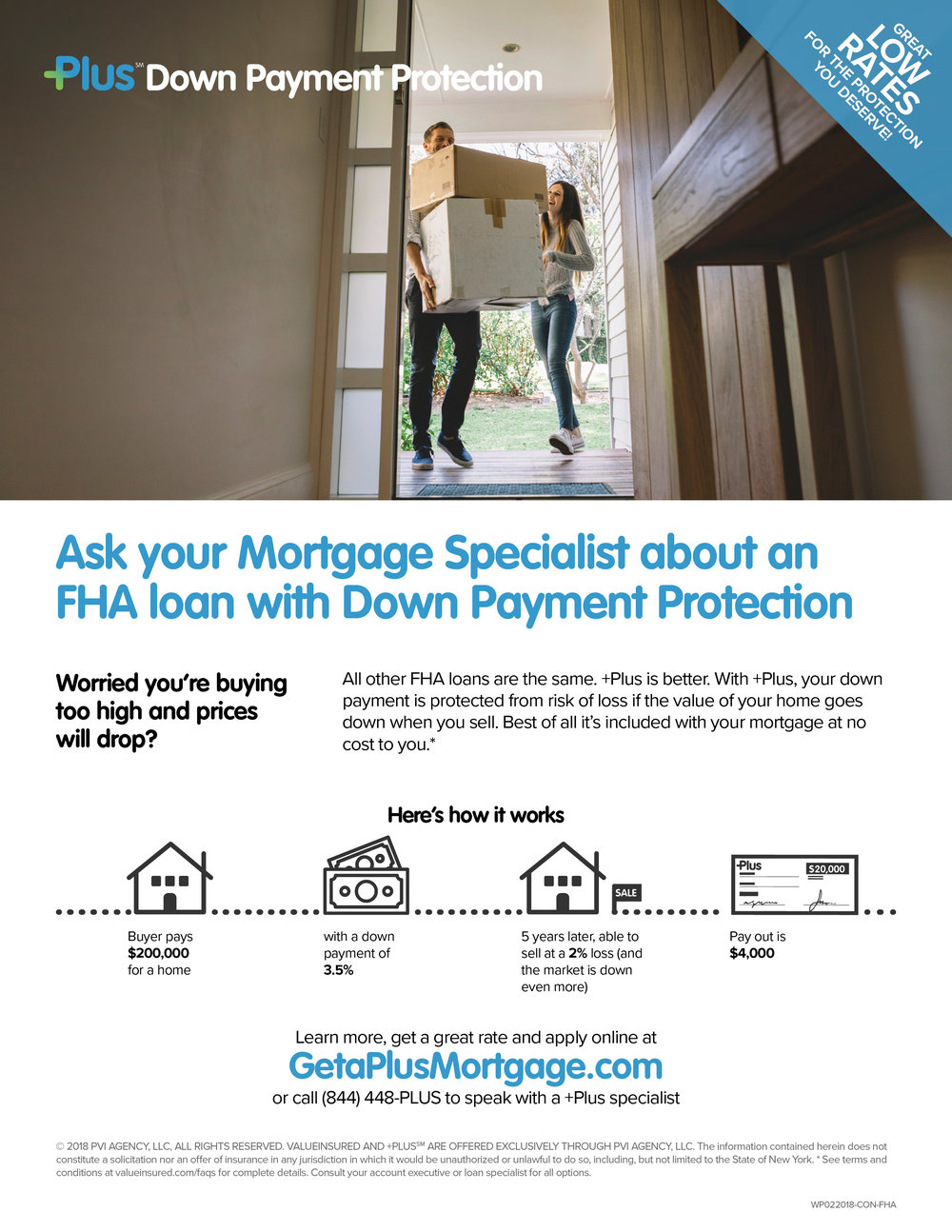 FHA for Borrowers (+Plus Branded)