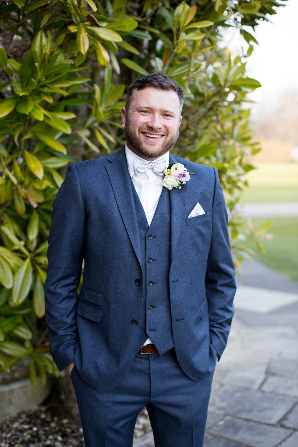 Groom at Goodwood House