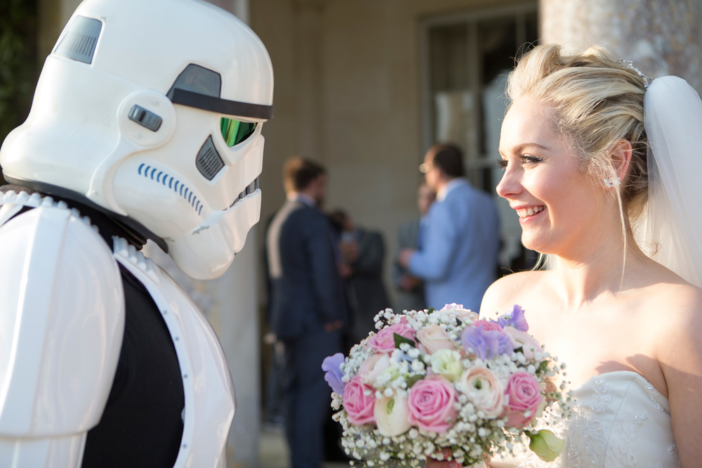 Bride with Stormtrooper