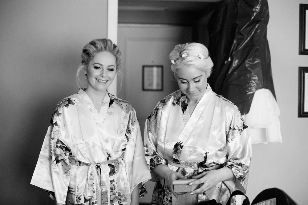 Bridal Prep Goodwood House
