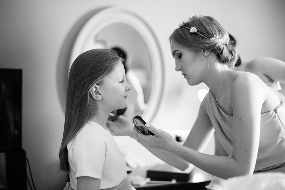 Flower Girl Bridal Prep