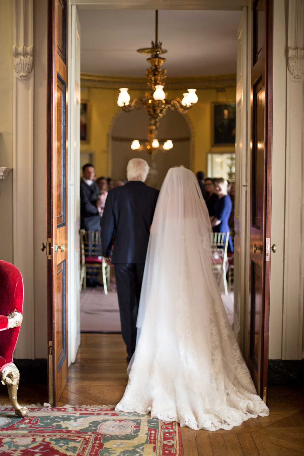 Wedding ceremony Goodwood House